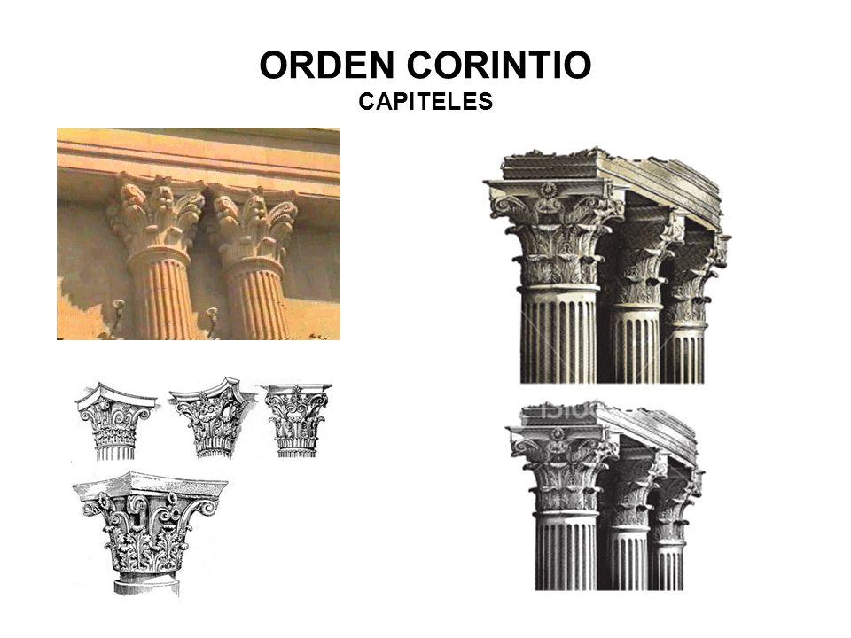ORDEN CORINTIO CAPITELES