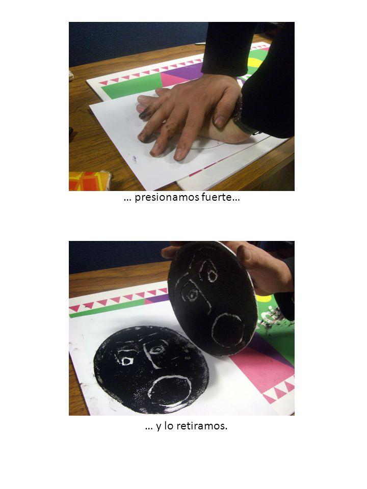 ¡Y el grabado está listo.Con la misma placa puedes hacer varias impresiones de tu dibujo.