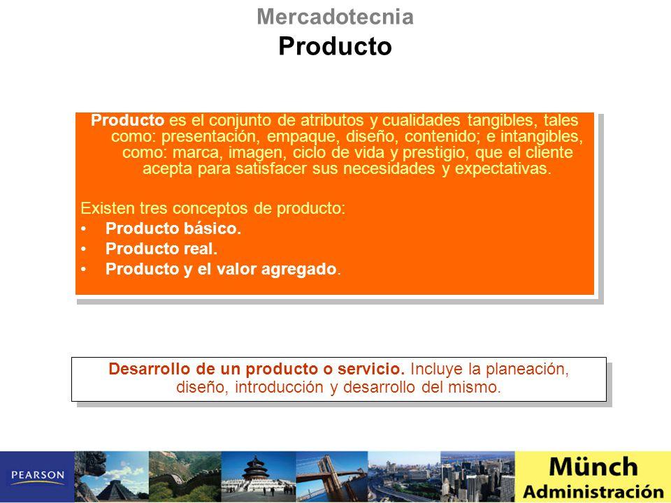 Producto es el conjunto de atributos y cualidades tangibles, tales como: presentación, empaque, diseño, contenido; e intangibles, como: marca, imagen,