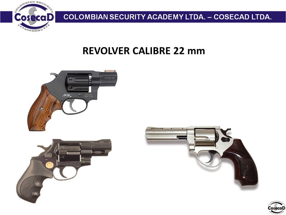 REVOLVER CALIBRE 22 mm