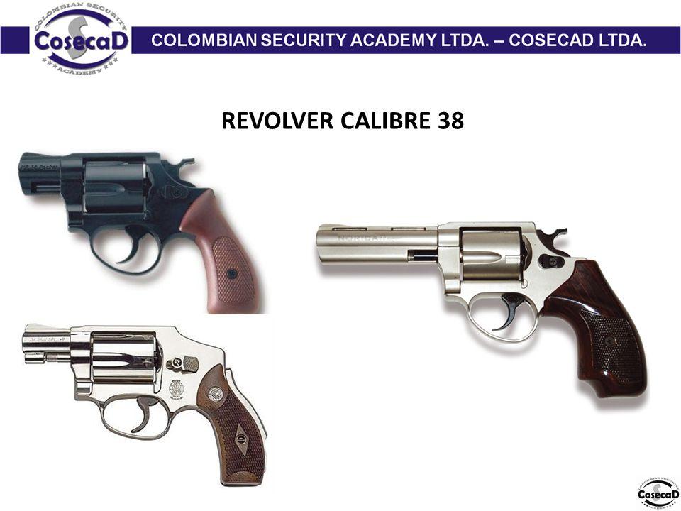 REVOLVER CALIBRE 38
