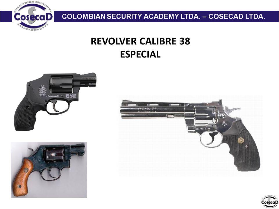 REVOLVER CALIBRE 38 ESPECIAL