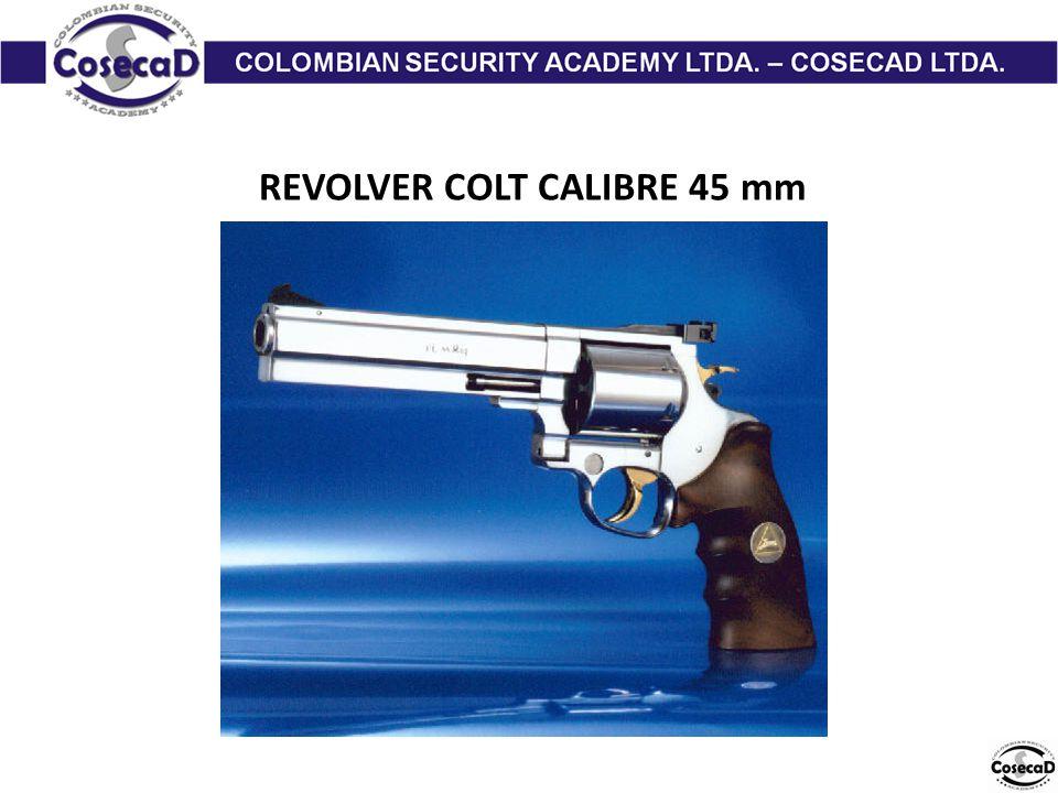 REVOLVER COLT CALIBRE 45 mm