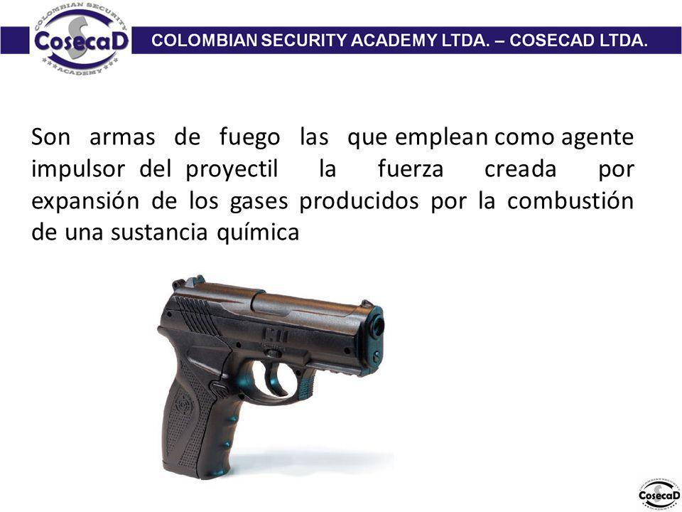de las armas de fuego