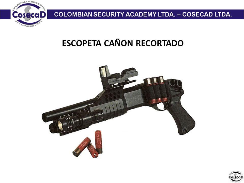 ESCOPETA CAÑON RECORTADO