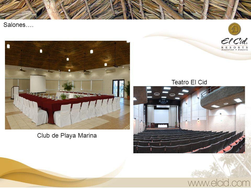 CENTRO DE CONVENCIONES EL CID El Cid Resorts cuenta con 14 salones distribuidos a lo largo de nuestro complejo, ubicándose los principales y más grand