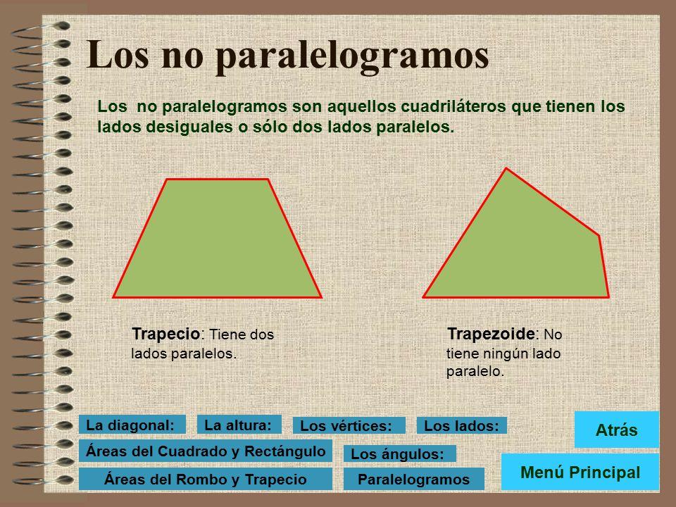 Los paralelogramos Los paralelogramos son aquellos cuadriláteros que tienen los lados paralelos. Todos los paralelogramos tienen las siguientes propie