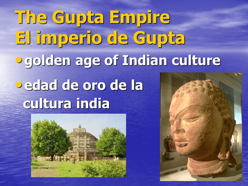 flourishing of indian culture in gupta empire essay The women of mauryan age history essay print indian civilization and culture by suhas chattaerjee, explains how the life of woman in gupta period is changed.