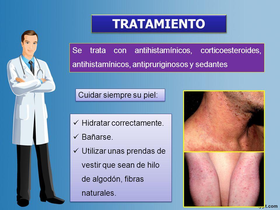 DERMATITIS SEBORREICA: Es una inflación caracterizada por la aparición de un enrojecimiento y descamación, suele afectar las aéreas corporales donde abunda la secreción sebácea.