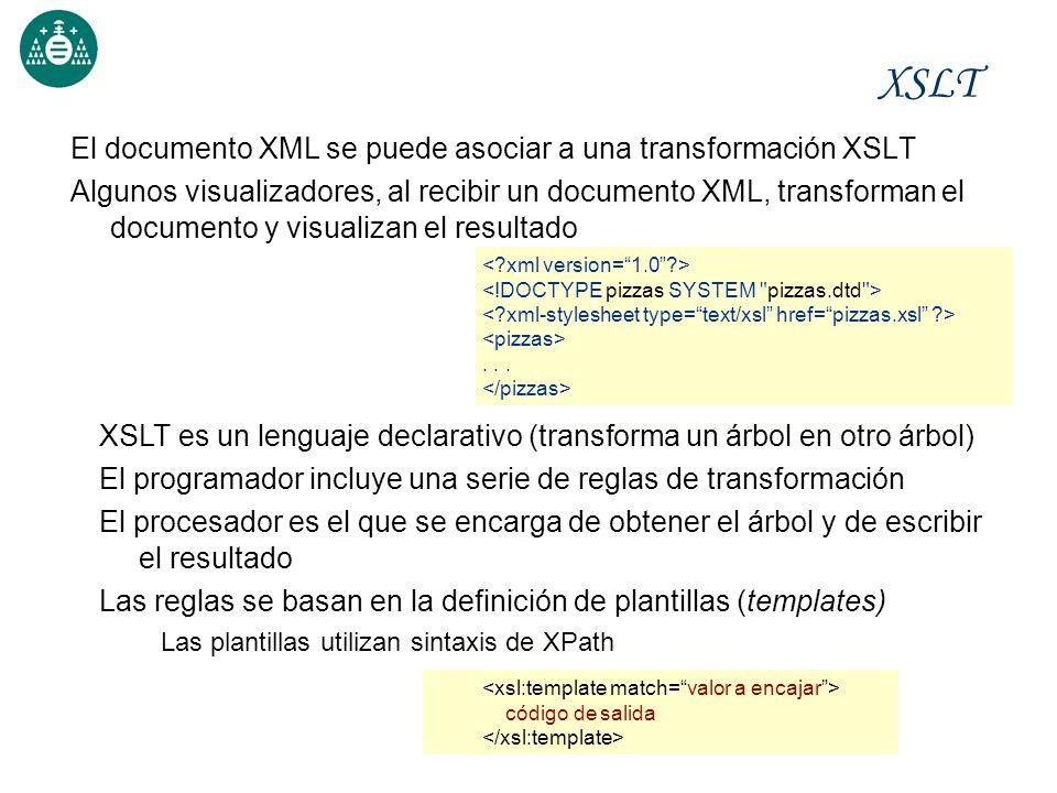 Vocabularios XML y Transformación de documentos XHTML, MathML, SVG ...