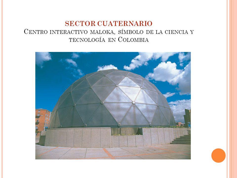 SECTOR CUATERNARIO C ENTRO INTERACTIVO MALOKA, SÍMBOLO DE LA CIENCIA Y TECNOLOGÍA EN C OLOMBIA