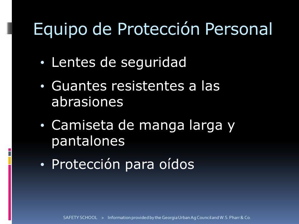 Equipo de Protección Personal Lentes de seguridad Guantes resistentes a las abrasiones Camiseta de manga larga y pantalones Protección para oídos