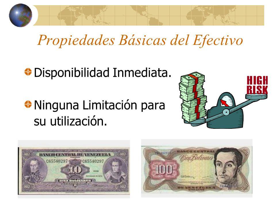 Partidas que Integran el Efectivo Dinero en efectivo en Moneda Nacional.