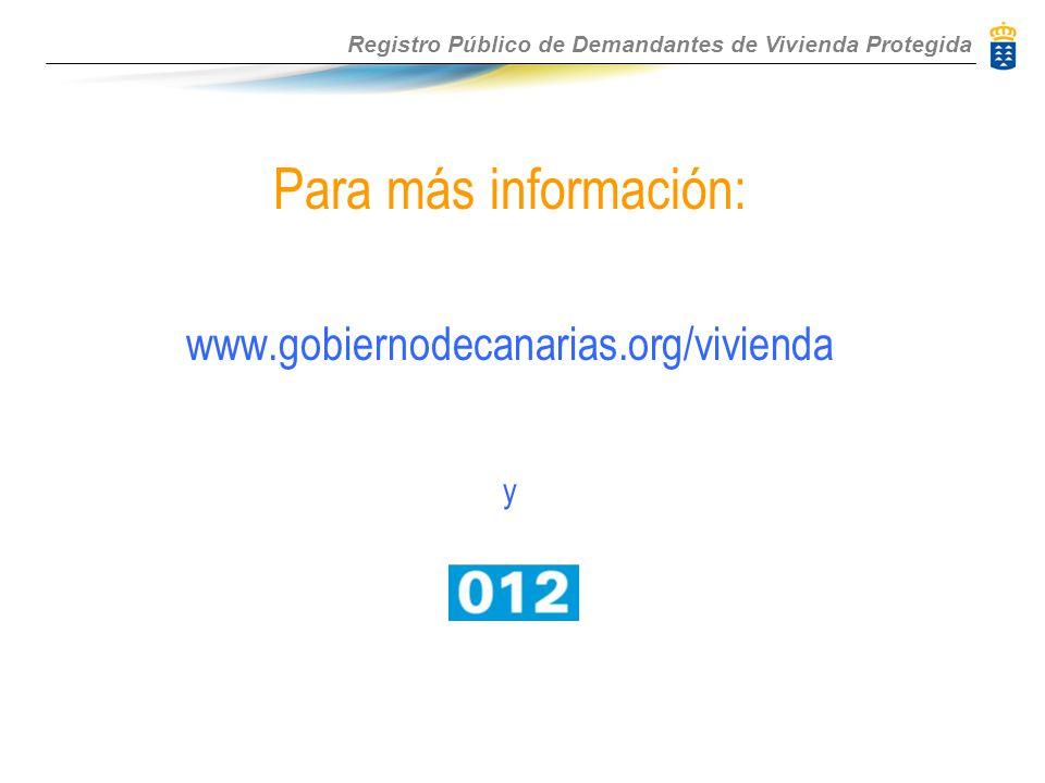 gobiernodecanarias org vivienda: