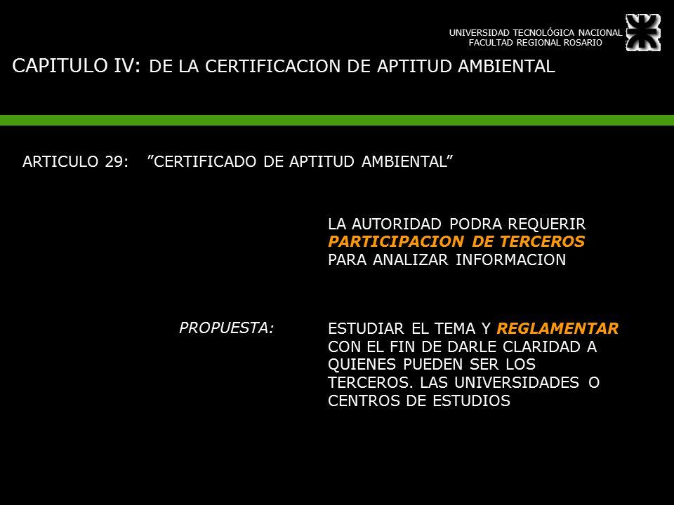 Certificado Aptitud Ambiental Aptitud Ambiental Articulo