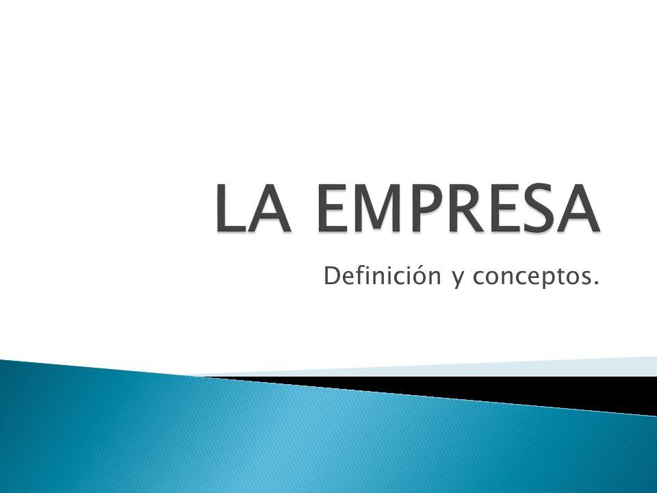 Definición y conceptos.