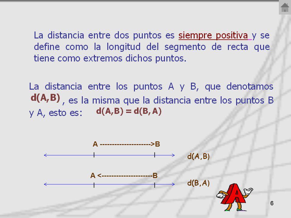 66 d(A,B ) d(B,A ) I A <---------------------B A --------------------->B I
