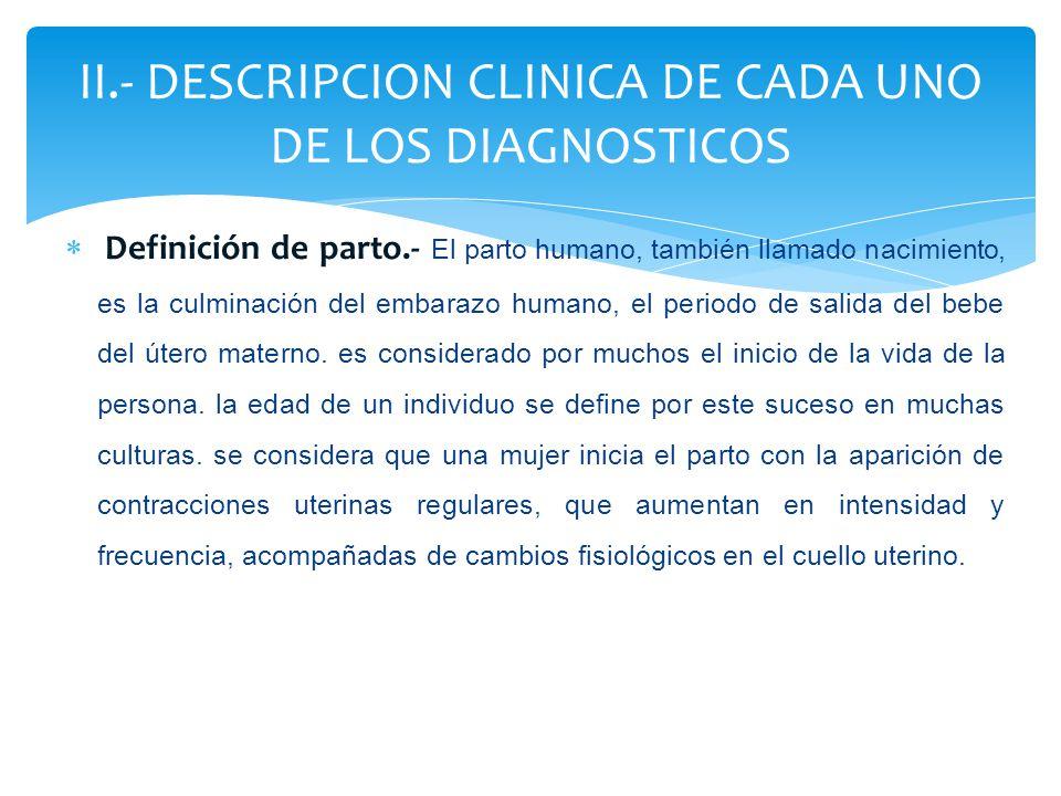 LABORATO RIO /O PRUEBA MOTIVO DE LA PRUEBA VALORES NORMALES VALORES OBTENIDOS DE LA PACIENTE INTERPRETACIÓN DE RESULTADOS O RELACIÓN CON EL DIAGNOSTICO MEDICO HEMOGRAMA HEMOGRAMA Ordenes médicas para detectar alteraciones que podrían llevar a complicacio nes GR:3.998.000 – 6.000.000 mlls/mm3 GB: 4,500 - 12000/mm3 HOT: 22– 37% HB: 9 – 10 g/dl PLAQUETAS: 150.000- 450.000/mm3 T.