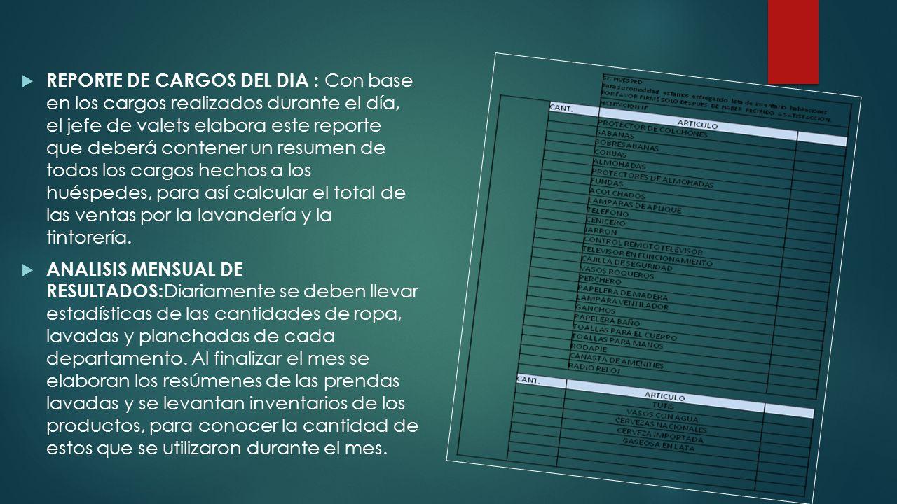 ORGANIGRAMA DE LAVANDERIA