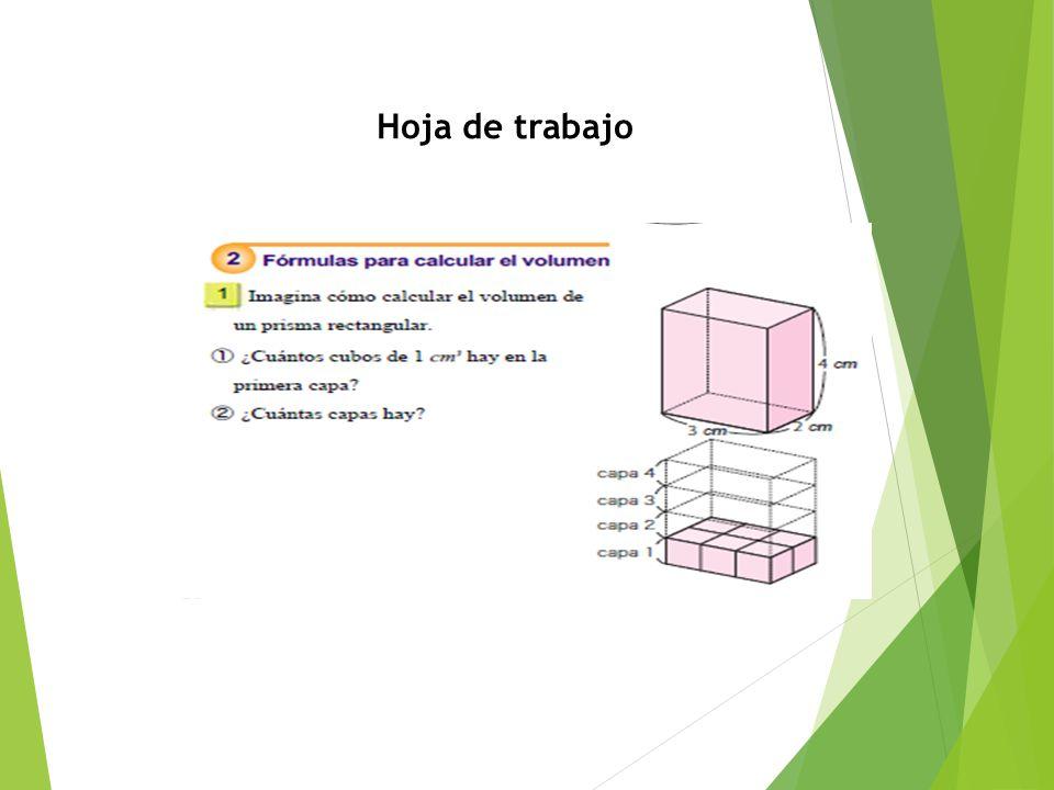 Excepcional Prisma Rectangular Superficie De Hoja De Cálculo ...
