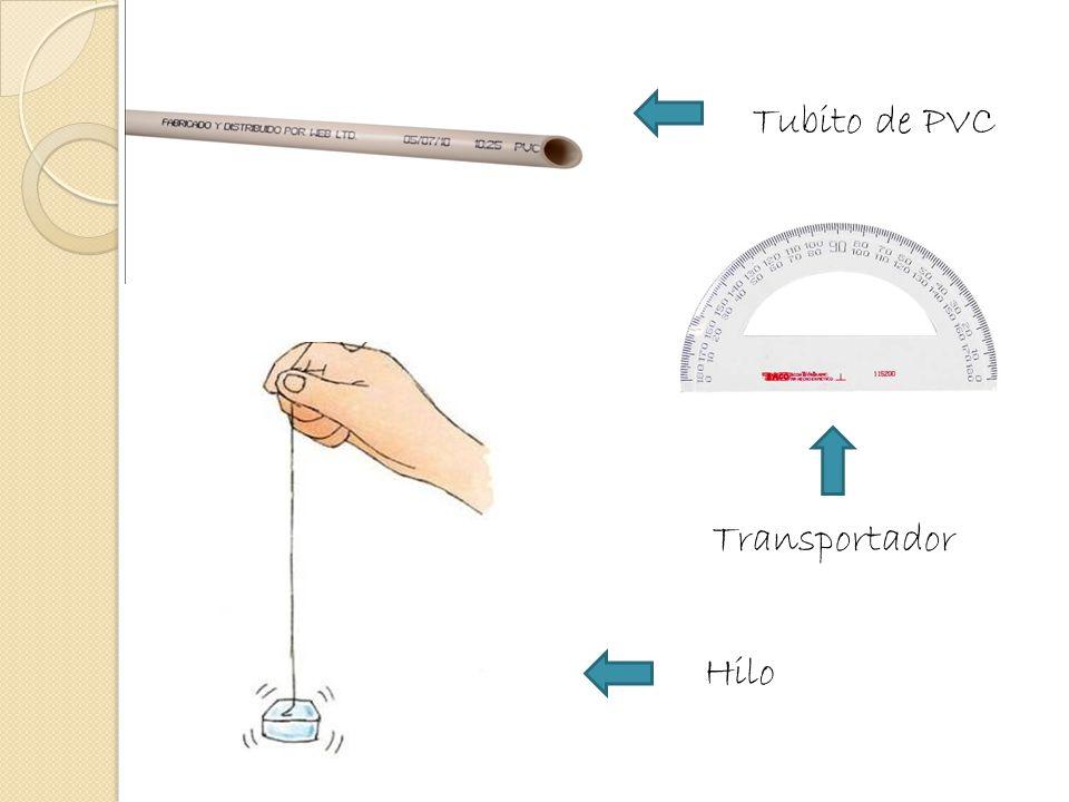 Tubito de PVC Transportador Hilo