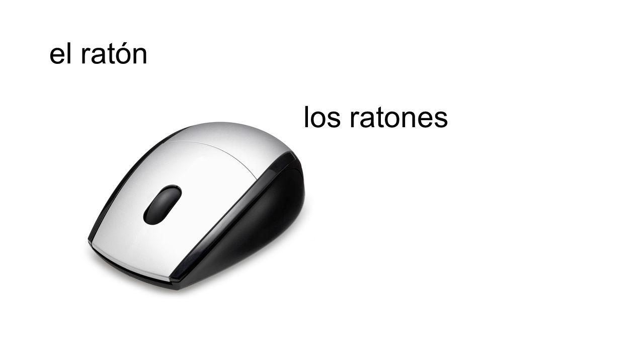 el ratón los ratones