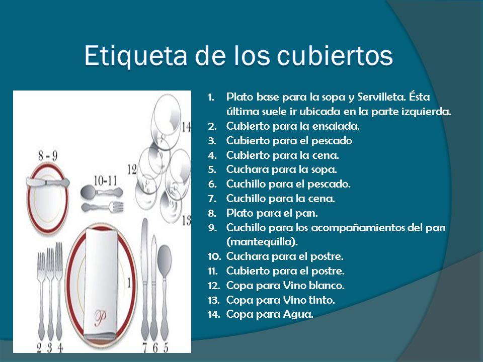 SERVICIO AMERICANO La característica de este servicio es emplatar desde la cocina y trasportarlo al comedor.