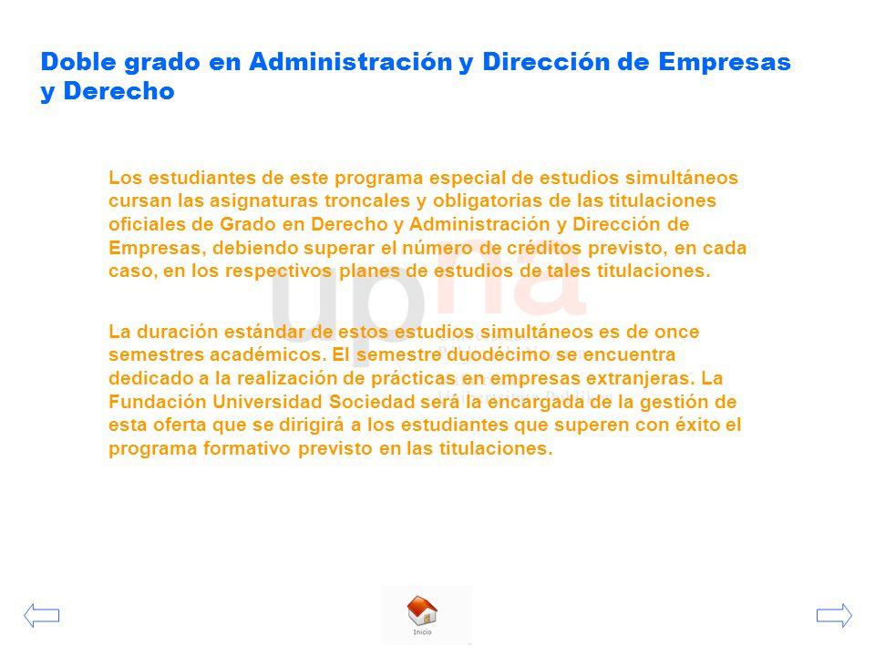 Jornada Informativa Facultad de Ciencias Económicas y Empresariales ...