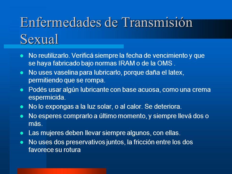 Se debe colocar antes de la penetración vaginal, anal o el sexo oral: 1.