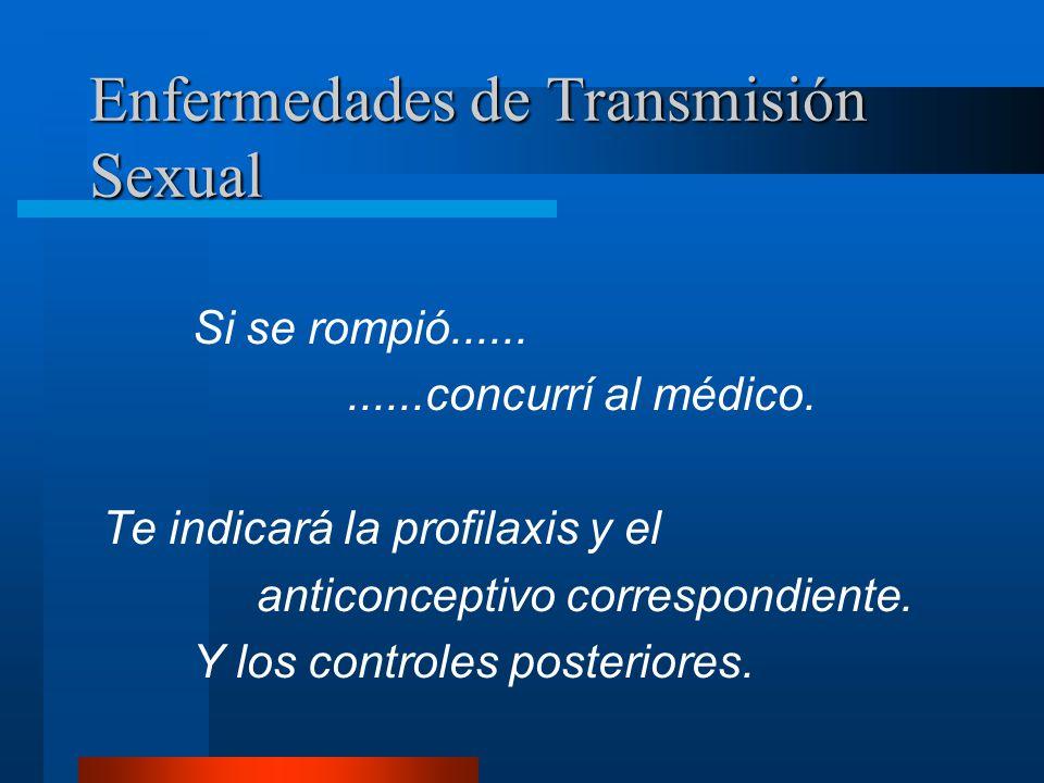Enfermedades de Transmisión Sexual No reutilizarlo.
