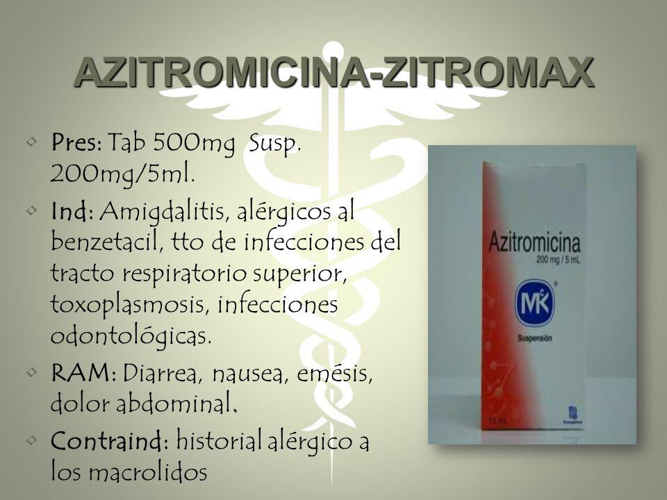 TRATAMIENTO El más frecuentemente usado es una dosis única del medicamento azitromicina o una semana de tratamiento con doxiciclina (dos veces al día)