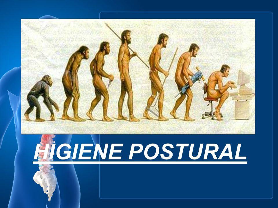 Higiene Postural La higiene postural tiene como objetivo prevenir o mejorar lesiones músculo-esqueléticas derivadas de posturas estáticas y movimientos incorrectos, movimientos repetitivos o sobrecargas musculares.
