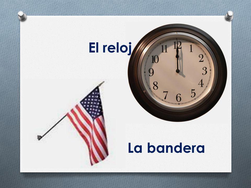 El reloj La bandera