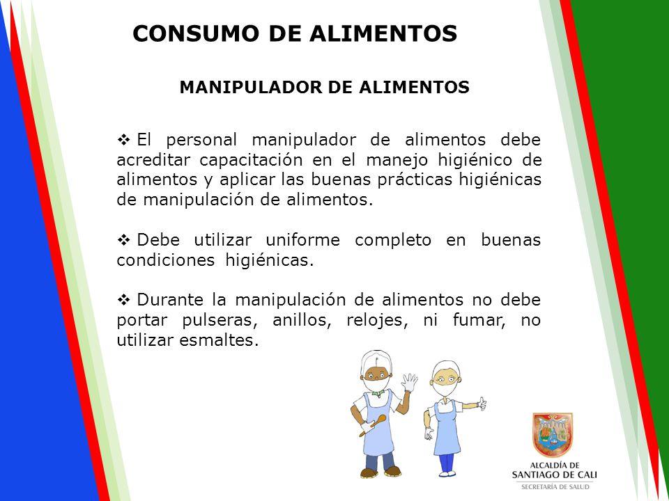  El personal manipulador de alimentos debe acreditar capacitación en el manejo higiénico de alimentos y aplicar las buenas prácticas higiénicas de ma