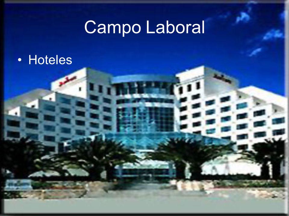 Campo Laboral Hoteles