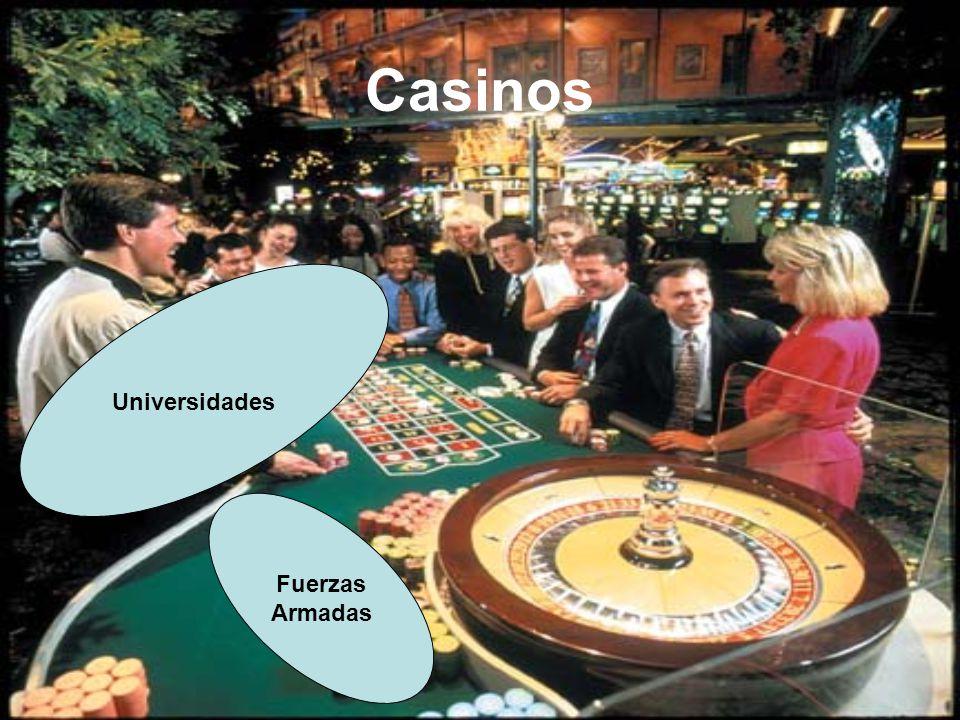Casinos Universidades Fuerzas Armadas