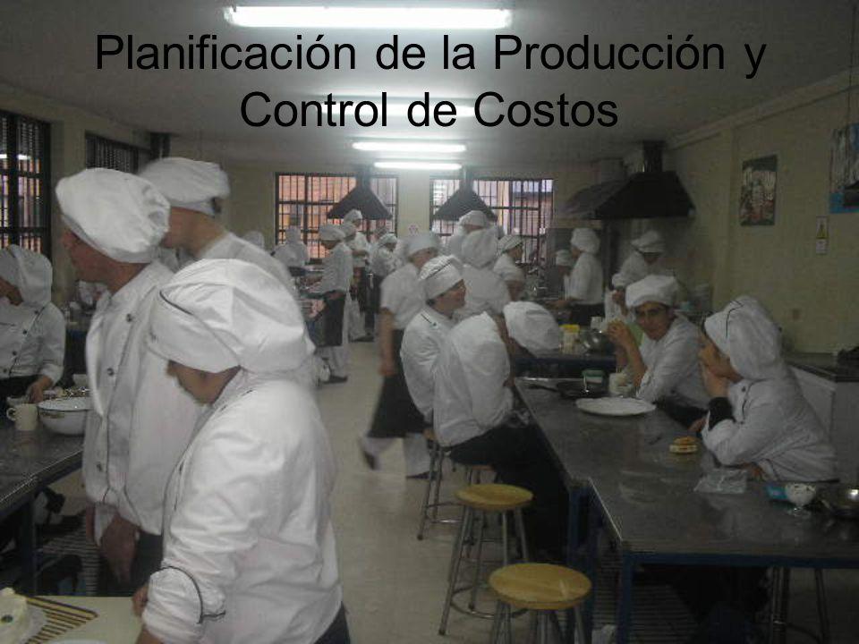 Planificación de la Producción y Control de Costos