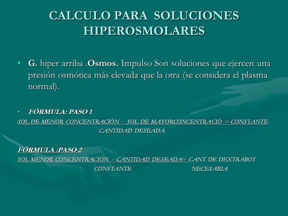 CALCULO PARA SOLUCIONES HIPEROSMOLARES G.hiper arriba.Osmos.