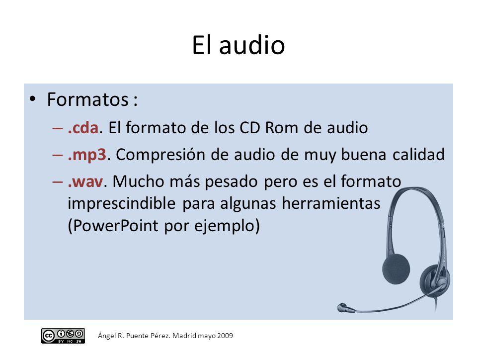 formato de audio cda: