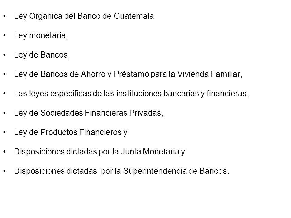 Bancos Ahorro Guatemala Ley de Bancos de Ahorro y