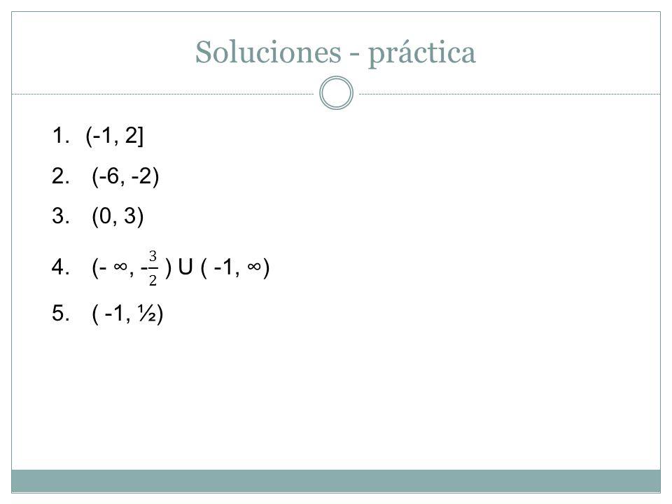 Soluciones - práctica