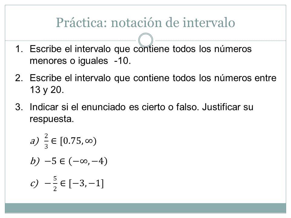 Desigualdades lineales Desigualdad lineal x > -1 2x + 3 < 11 7(x + 3) ≤ 5x + 5 Desigualdad No lineal x 2 > -1 x 2 – 3x + 5 ≤ -1 2(x 3 – 4x) ≤ 0 Al igual que con las ecuaciones, hay diferentes tipos de desigualdades.