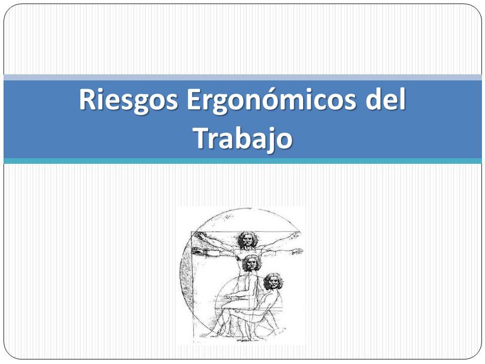 Ergonomía Ergos (trabajo) y nomos (leyes): Ley del trabajo Disciplina que estudia la relación entre el entorno de trabajo (lugar de trabajo), y quienes realizan el trabajo (los trabajadores).