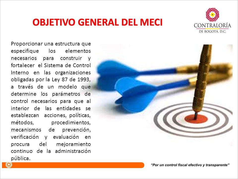 La actualización del MECI continua sustentándose en los tres aspectos esenciales en los que se ha venido fundamentando el Modelo, a saber: Autocontrol