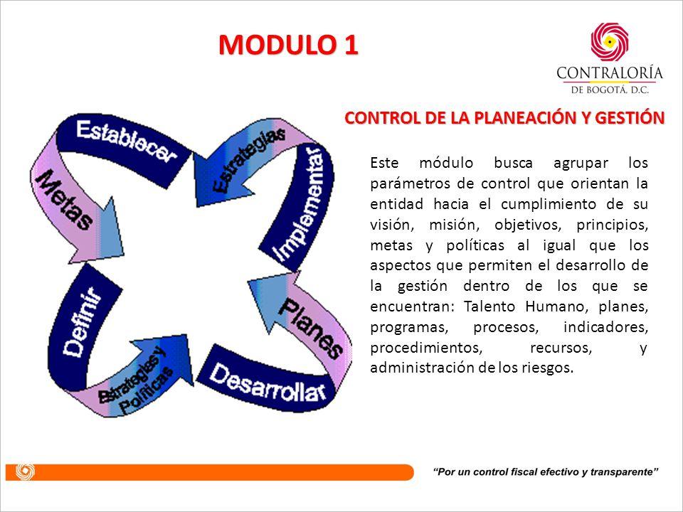 Entre las principales novedades que trae la actualización del modelo, se encuentra que los tres subsistemas de control a los que se refería la versión anterior se convierten en dos Módulos de Control, que sirven como unidad básica para realizar el control a la planeación y la gestión institucional, y a la evaluación y seguimiento.