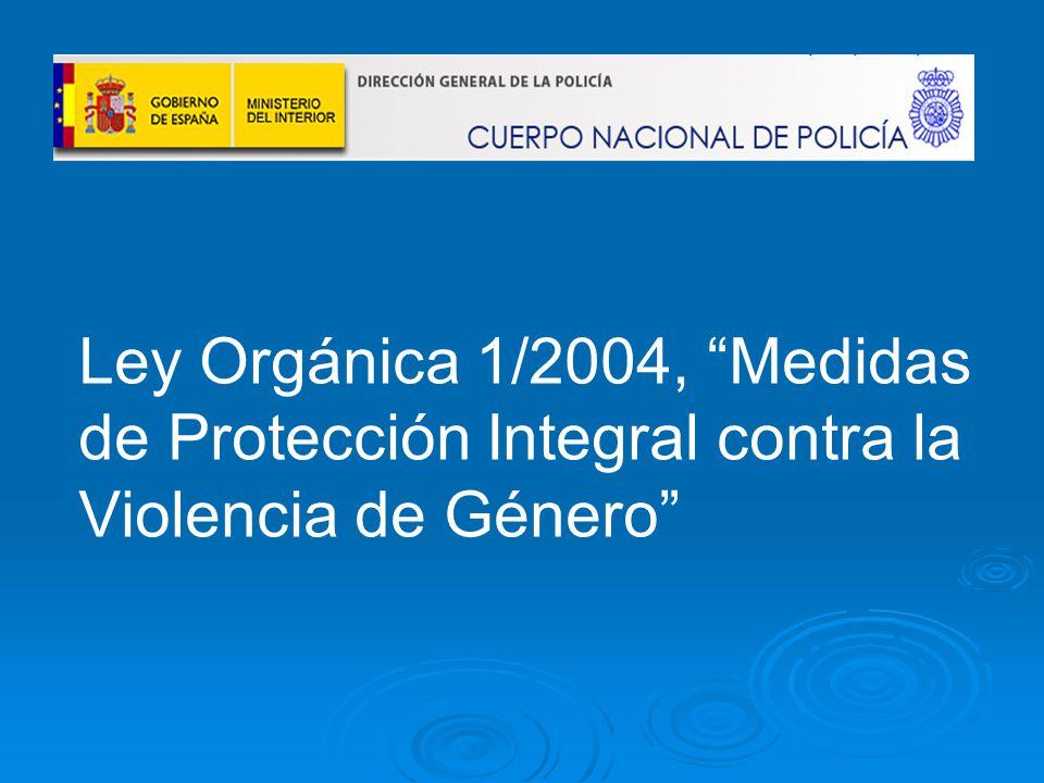 27 de la ley organica 1 2004: