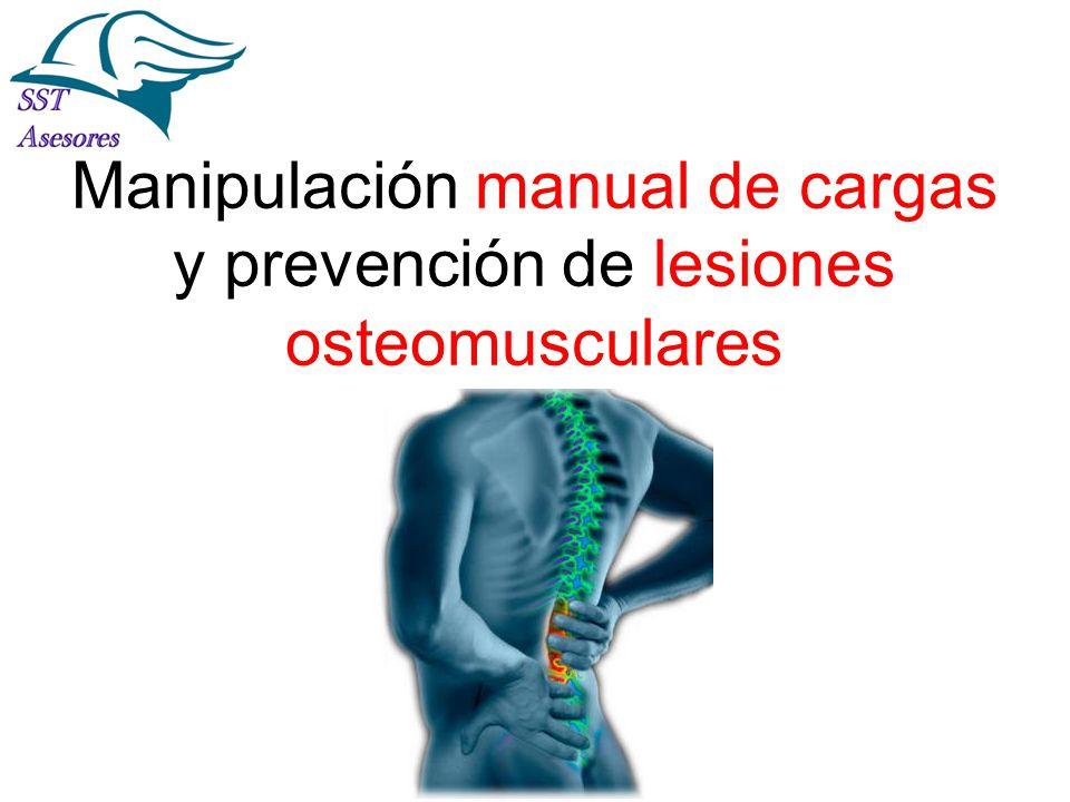 IPER Específico por sección La Prevención es Tarea de Todos! Manipulación manual de cargas y prevención de lesiones osteomusculares