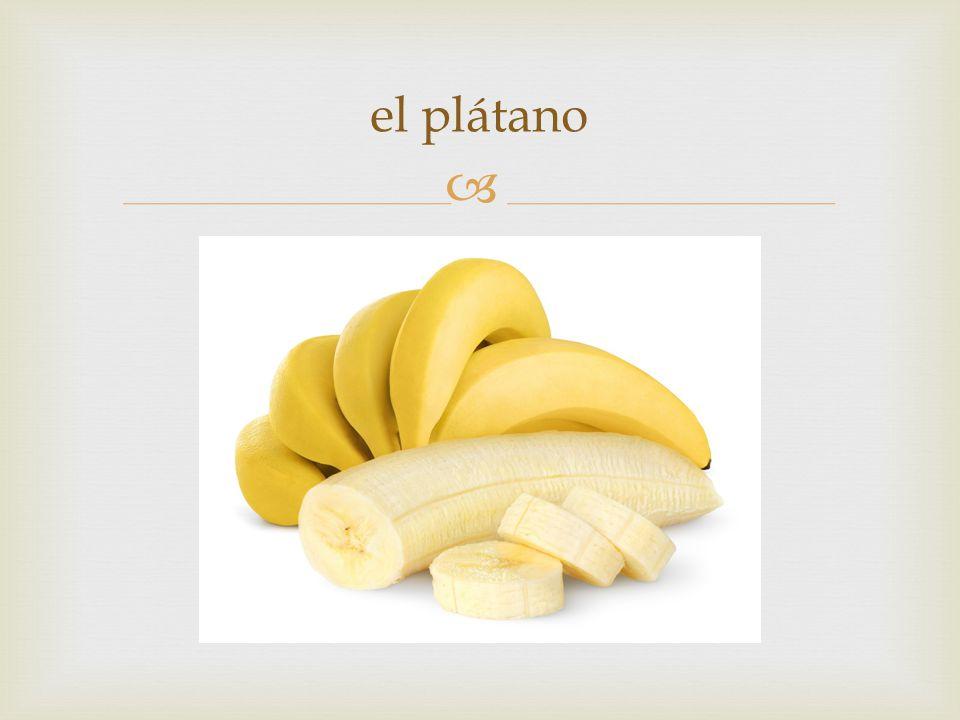  el plátano