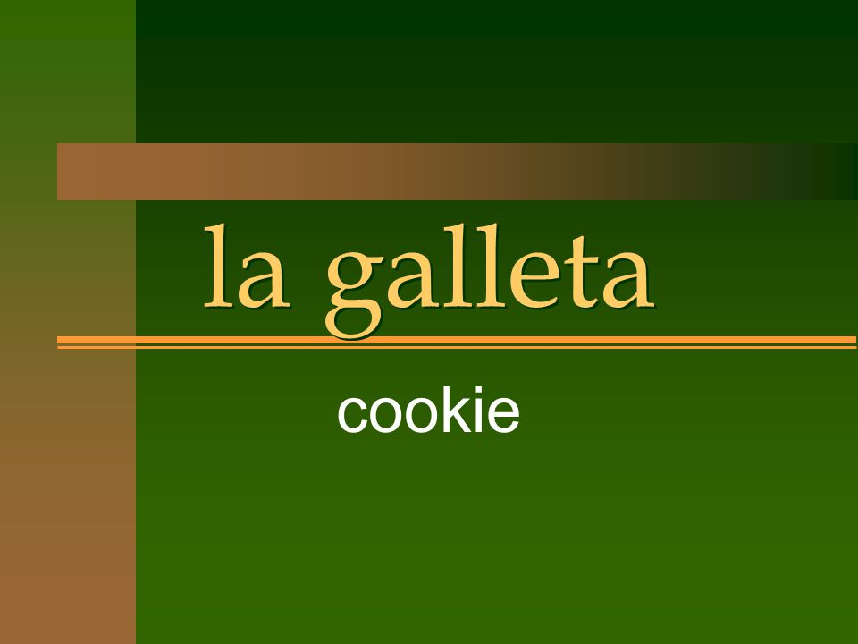 la galleta cookie