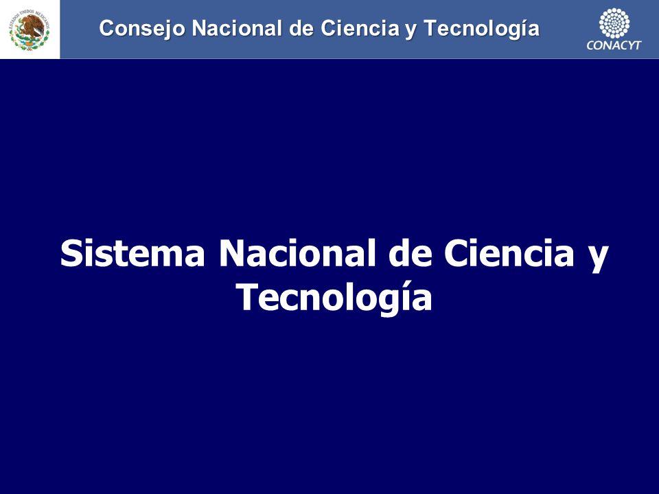 Consejo Nacional de Ciencia y Tecnología Consejo Nacional de Ciencia y